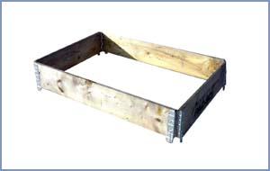 Pincha sobre la imagen para acceder a más información sobre: Cercos de madera para palet