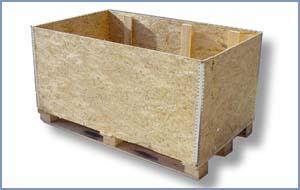 Pincha sobre la imagen para acceder a más información sobre: Caja C/Contrachapado 120x100x65 (Vista lateral)